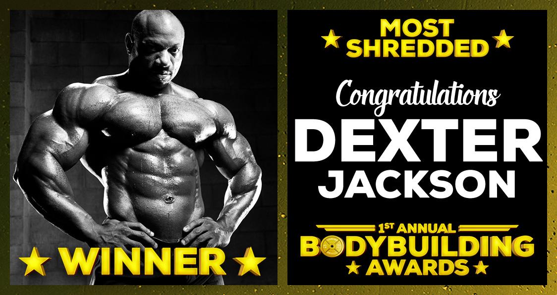 Most Shredded Dexter Jackson Bodybuilding Awards Generation Iron