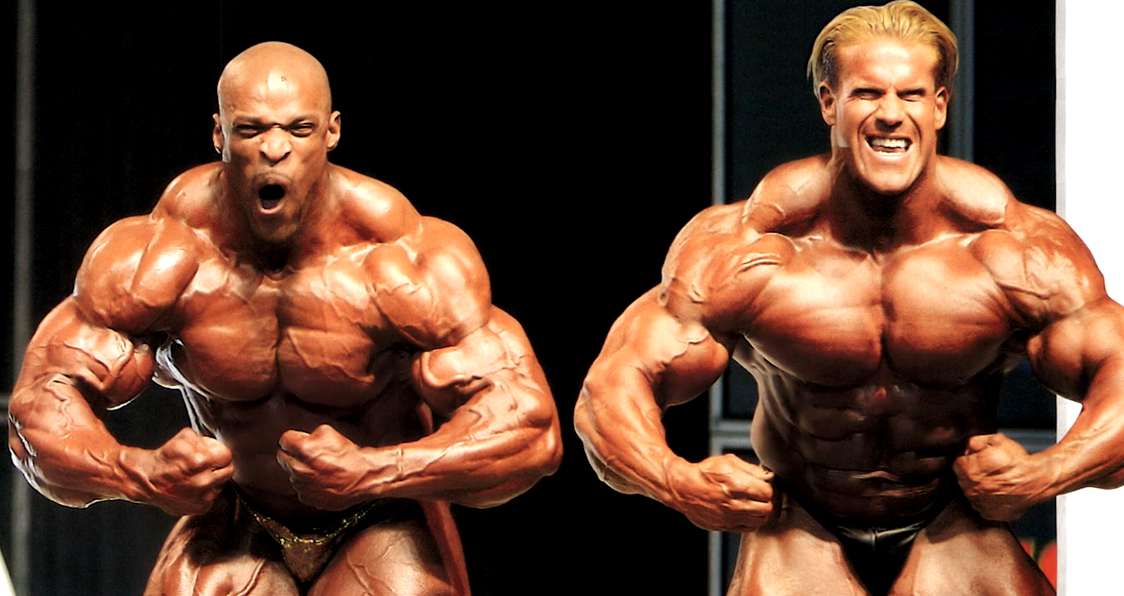 vintage footage of ronnie coleman beefing with jay cutler