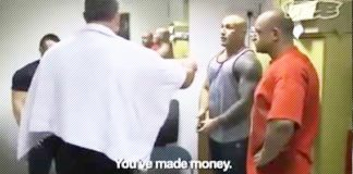 Bodybuilder Smacked Selling Gear Gym Generation Iron