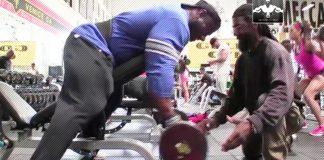 Dexter Jackson Bicep Training Generation Iron