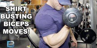 Shirt Busting Bicep Moves Generation Iron