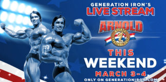 Arnold Classic 2017 Live Stream Generation Iron