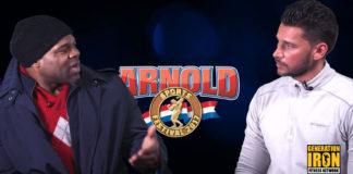 Kai Greene Arnold Classic 2017 Predictions Generation Iron