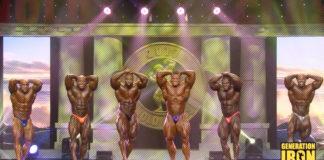 2017 Arnold Classic Posedown Generation Iron