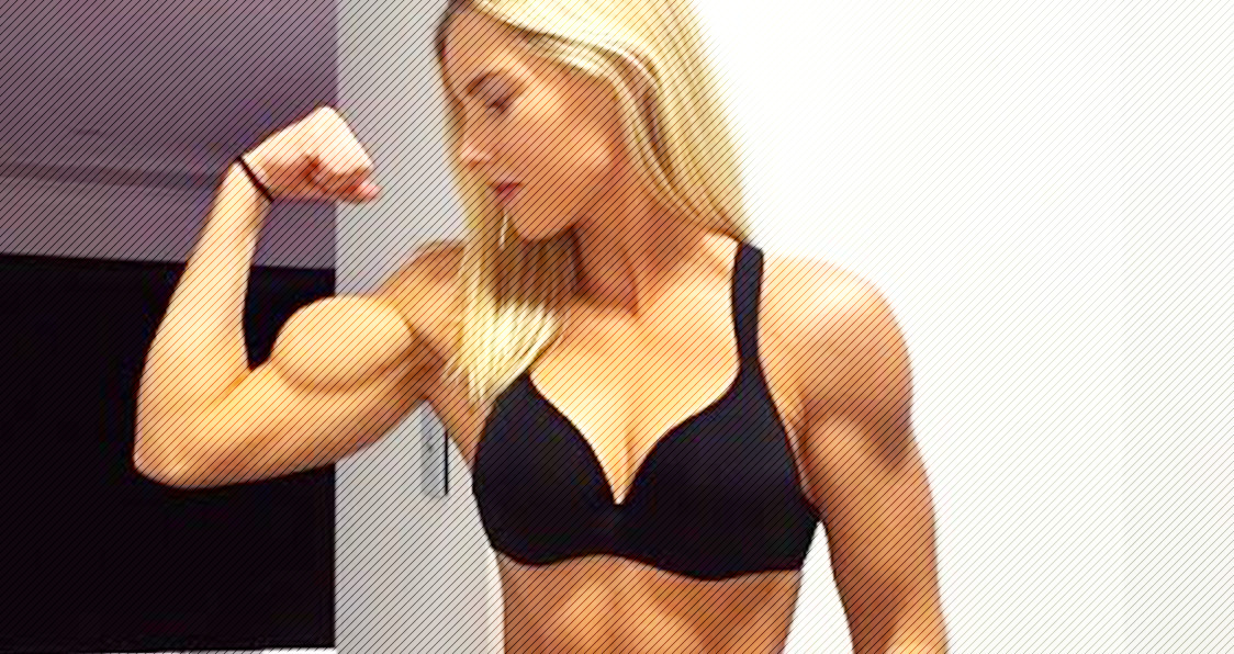 WATCH: This 21 Year Old Girl Has Surprisingly Huge Biceps