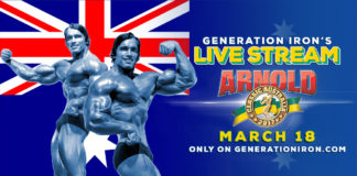 Arnold Classic Australia Live Stream Generation Iron