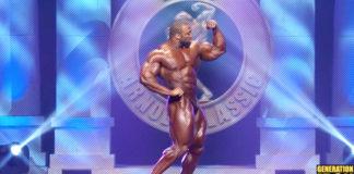 Cedric McMillan 2017 Arnold Classic Posing Generation Iron