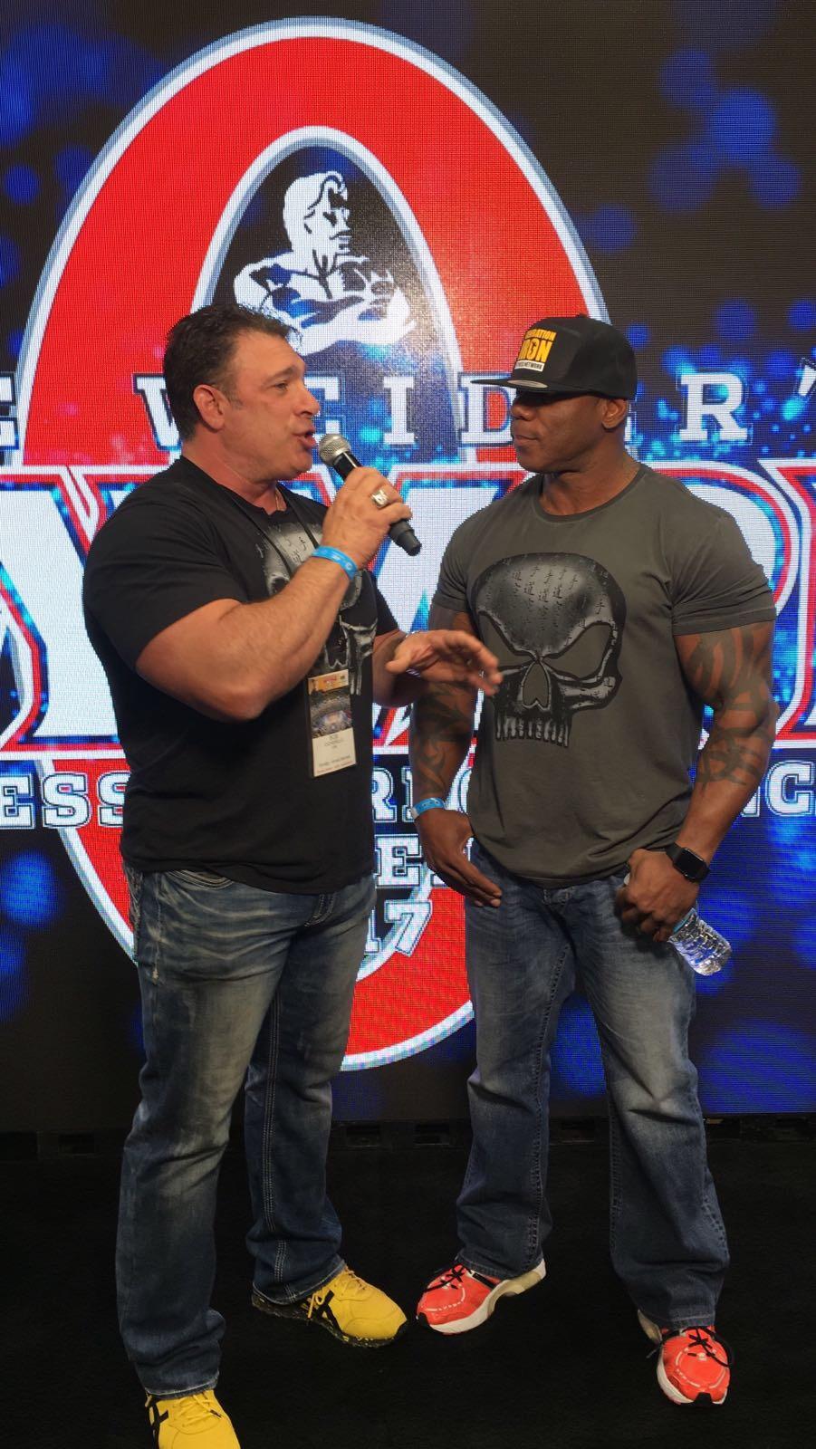 Flex Wheeler Comeback Olympia 2017 Generation Iron