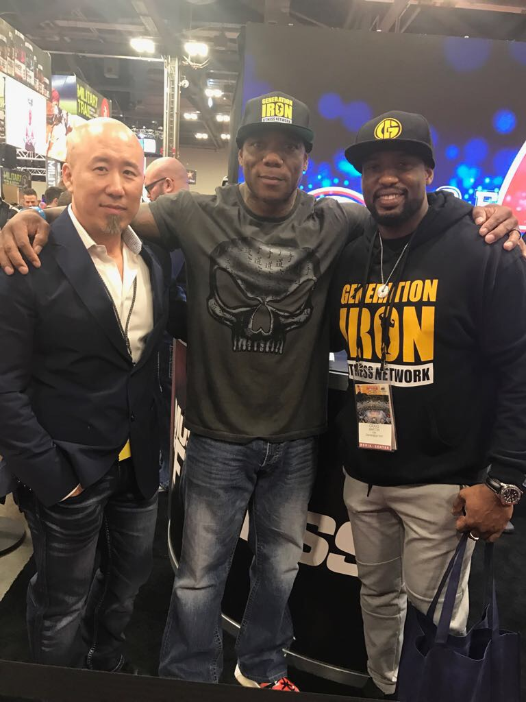 Flex Wheeler With Robin Chang Olympia 2017 Generation Iron