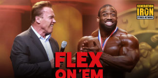 Arnold Classic Dying Flex On Em Generation Iron