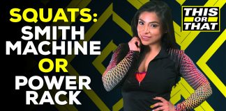 Squats Smith Machine or Power Rack This Or That Jessenia Vice Generation Iron