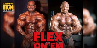 Shawn Ray Mind Games Flex On Em Generation Iron