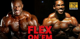 Flex Wheeler Regret Ronnie Coleman Generation Iron