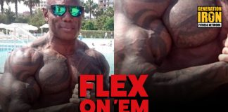 Flex Wheeler Forearms Flex On 'Em Generation Iron
