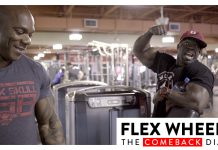 Flex Wheeler Comeback Diaries Training Legs With Kali Muscle Generation Iron