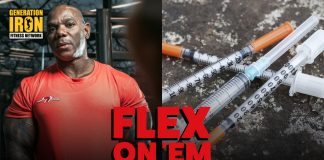 Flex Wheeler Insulin Kills Generation Iron