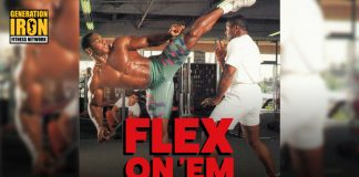 Flex On 'Em MMA Fighting Generation Iron