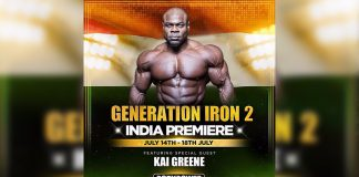 Kai Greene Generation Iron 2 India