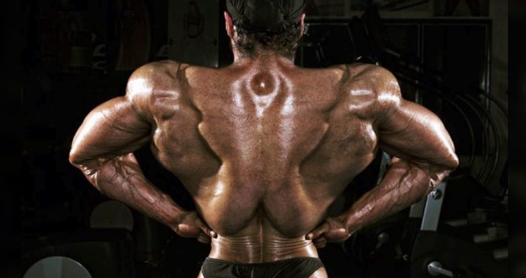 These Bodybuilder's Lats May Be The Most Impressive That