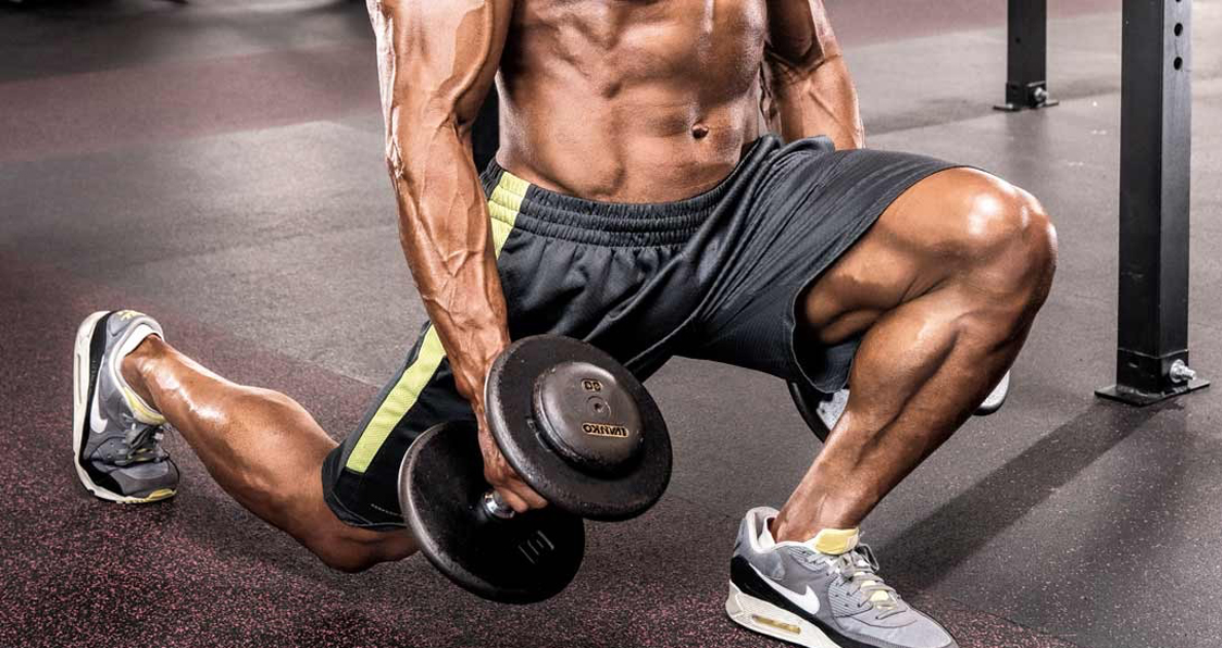 Build Shredded Legs With This Dumbbell Workout