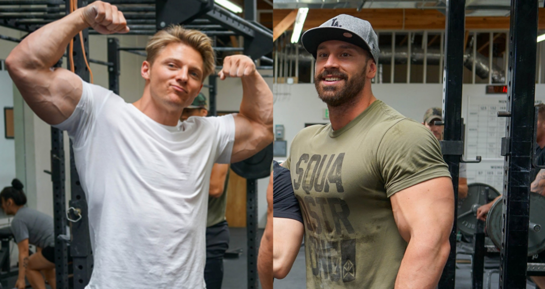 Looks Like Steve Cook And Bradley Martyn Are Beefing On Twitter Generation Iron Fitness Bodybuilding Network Nelk boys and steve will do it get their necks cracked. like steve cook and bradley martyn
