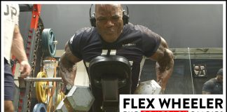 Flex Wheeler Final Weeks Olympia 2017 Comeback Generation Iron