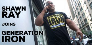 Shawn Ray Joins Generation Iron