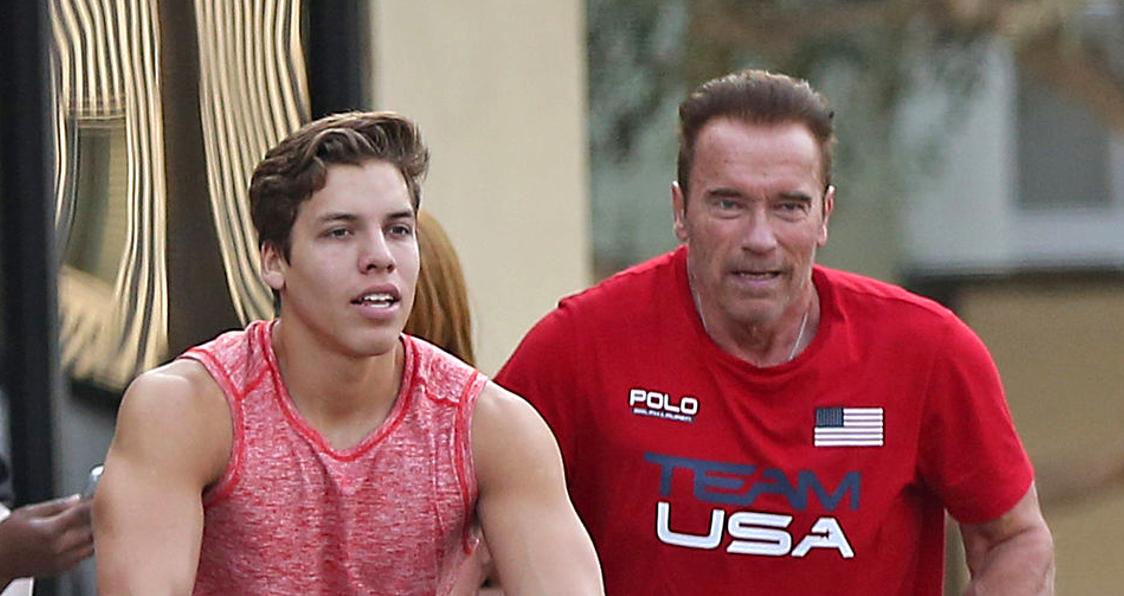 Arnold Schwarzenegger Trains With Son Joseph For 20th ...