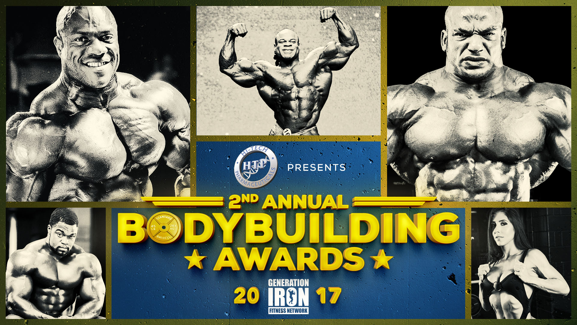 Generation Iron Bodybuilding Awards 2017