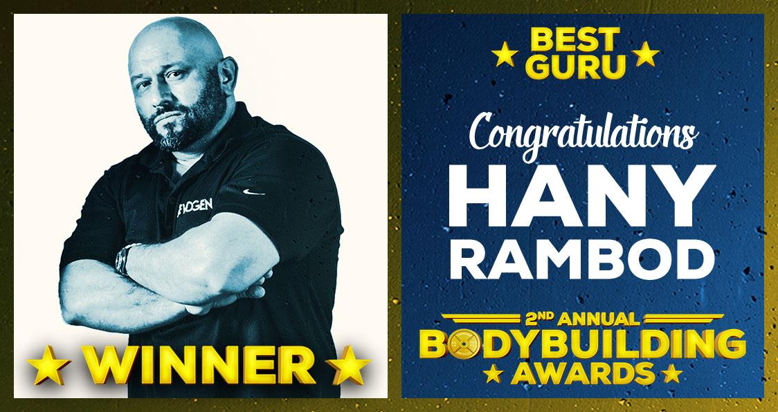 Hany Rambod Guru of the Year Bodybuilding Awards 2017