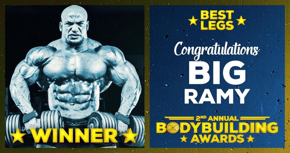 Big Ramy Best Legs Bodybuilding Awards 2017