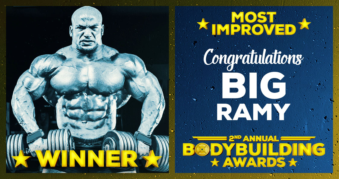 Big Ramy Most Improved Bodybuilding Awards 2017