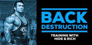 Hidetada Yamagishi & Rich Gaspari Back Training Generation Iron