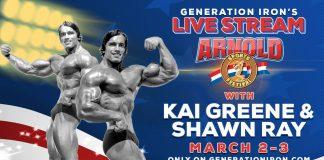 Arnold Classic 2018 Live Stream Generation Iron