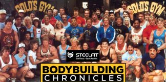 Bodybuilding Chronicles, Shawn Ray, Gold's Gym