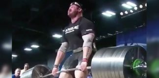 Arnold Classic 2018 Deadlift Blood Generation Iron