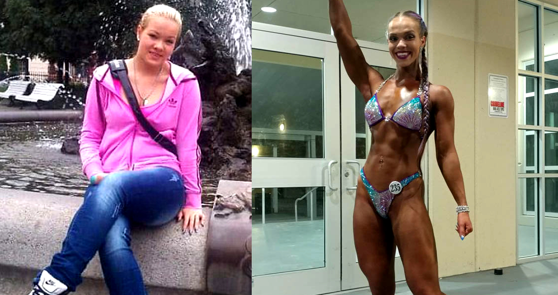 Erika Dankova Transformed Herself From Chubby Girl To