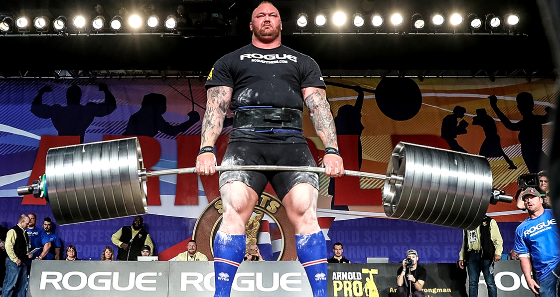 WATCH: Hafthor Bjornsson Shatters World Record With 1041 Lbs