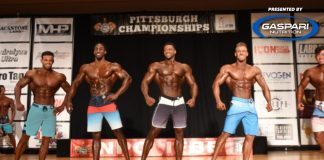 2018 IFBB Pittsburgh Pro Results Generation iron
