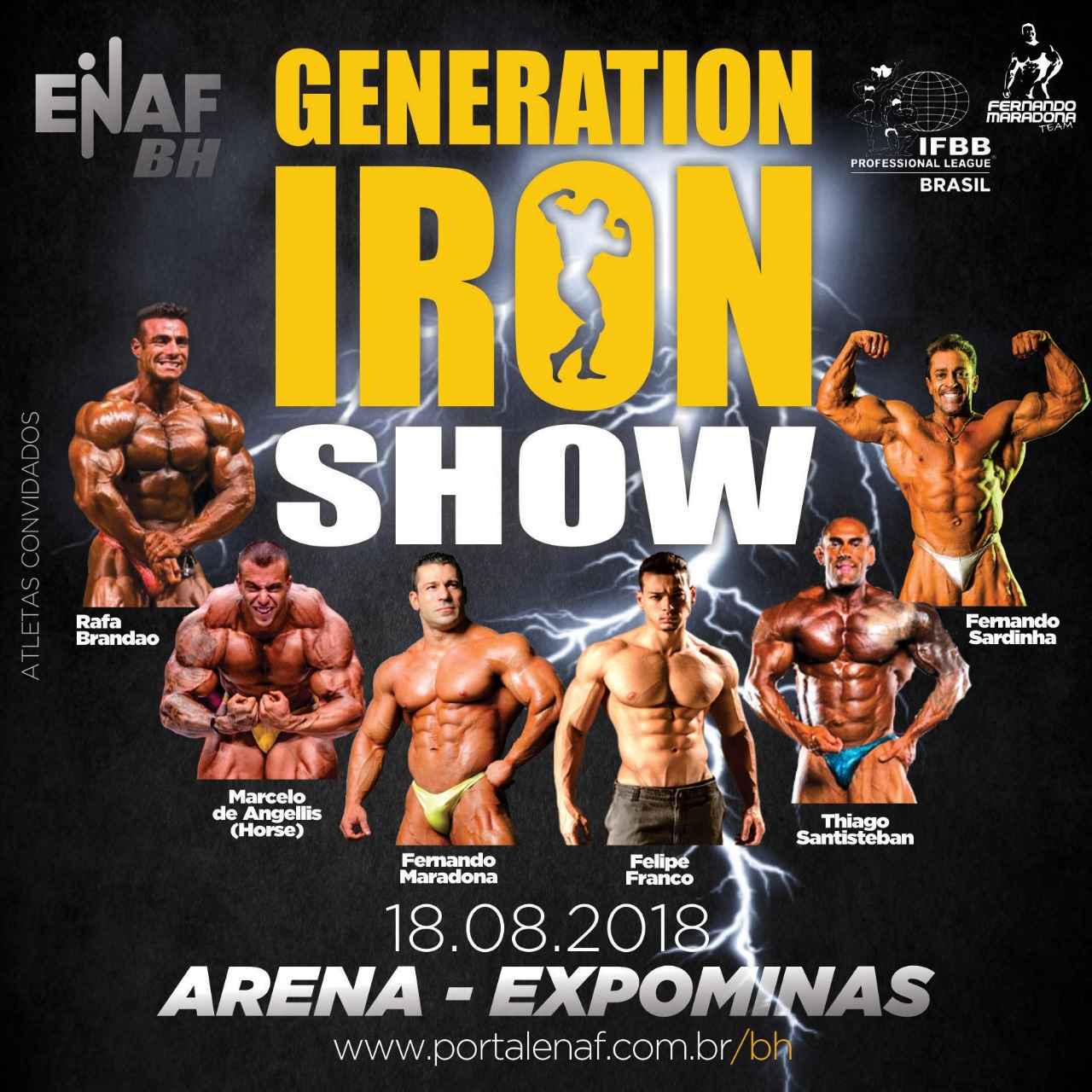 Generation Iron Show Bodybuilding Competition