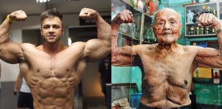 Weight Training Young vs Old Generation Iron