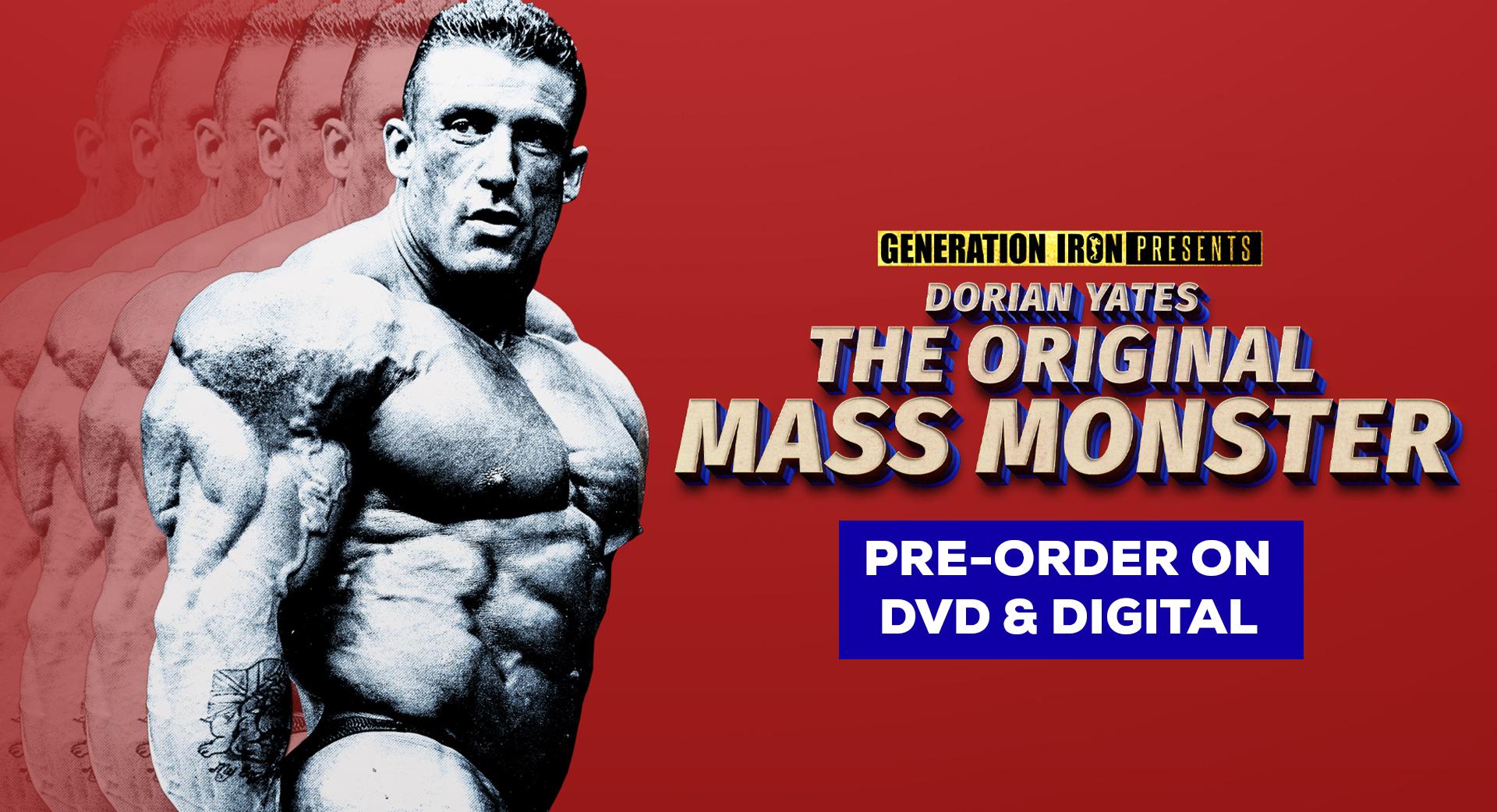 Dorian Yates The Original Mass Monster Pre-Order