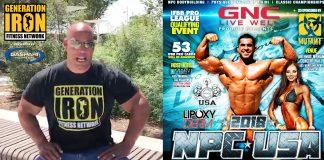 GI News Shawn Ray NPC USA Championships 2018 Generation Iron