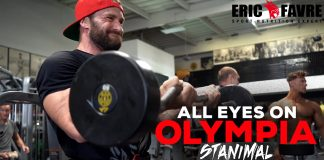All Eyes On Olympia Stanimal Arm Training Olympia 2018 Generation Iron