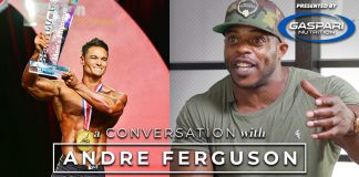 Andre Ferguson Men's Physique Prize Money Generation Iron