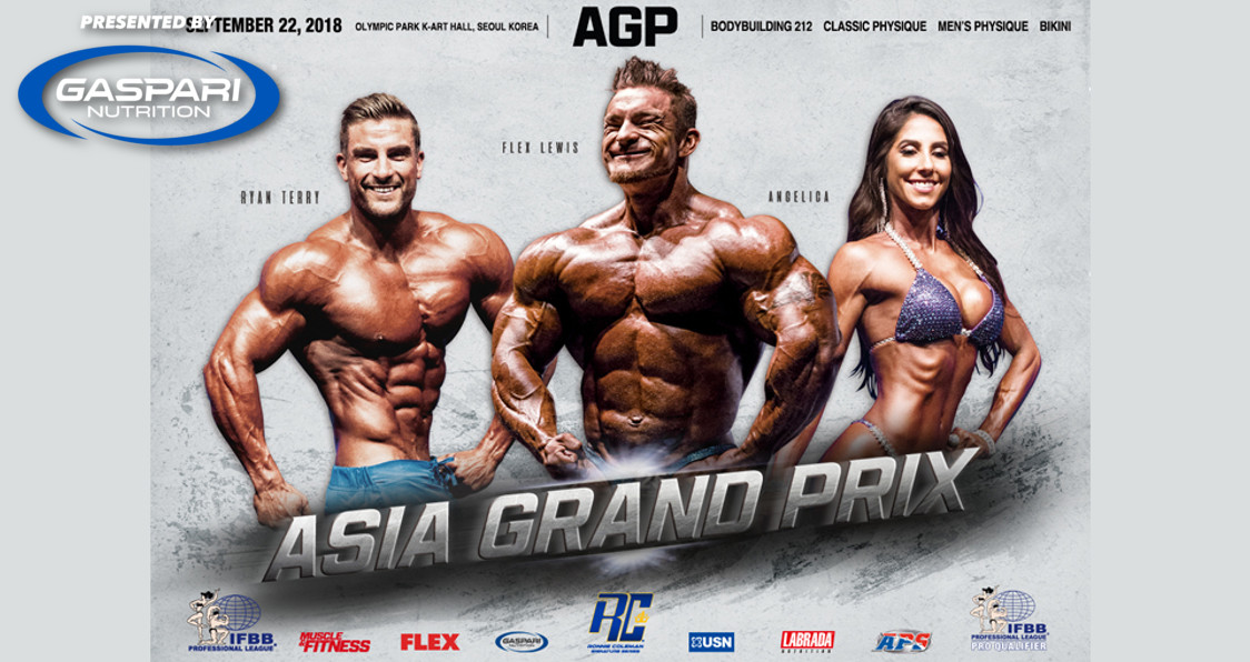 Asia Grand Prix 2018 Results | Generation Iron Fitness Network