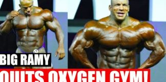 Big Ramy Quits Oxygen Gym Generation Iron