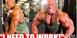 Phil Heath Back In The Gym Olympia 2018 Generation Iron