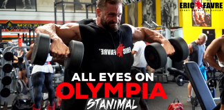 Stanimal Olympia 2018 All Eyes On Olympia Generation Iron