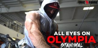 All Eyes On Olympia Stanimal Shawn Rhoden 10 Days Out Generation Iron